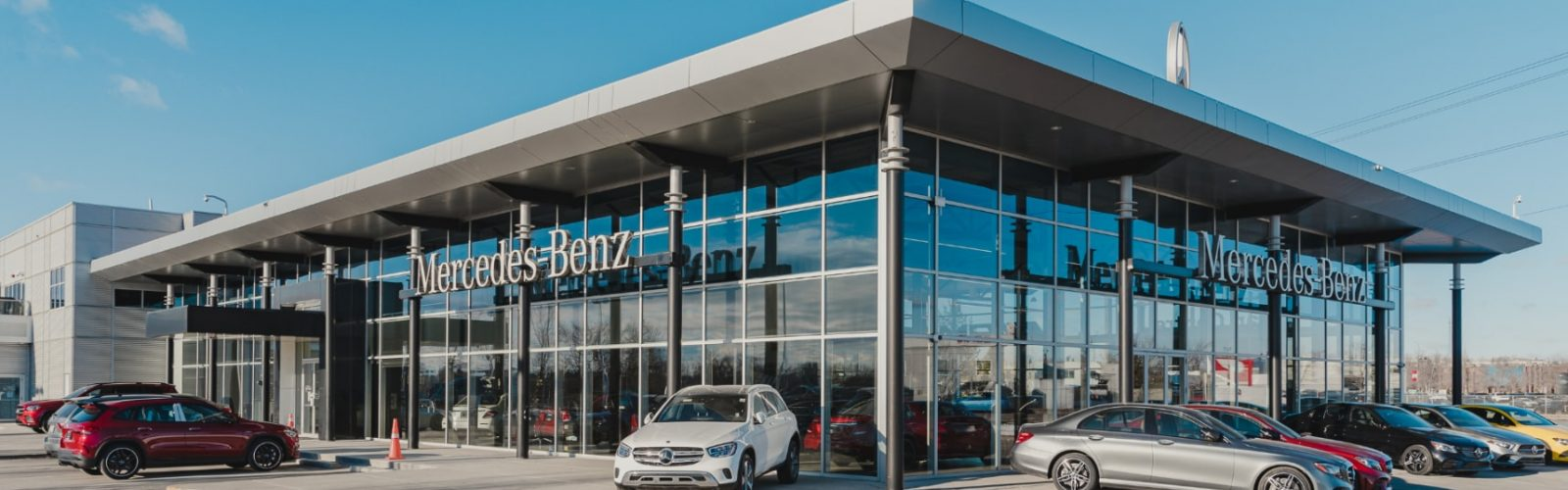 Exterior of AMG section in showroom at Lonestar Mercedes-Benz business.